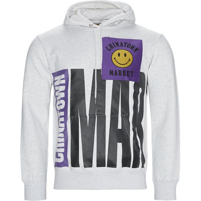 Rockies Hoodie - Sweatshirts - Regular - Grå
